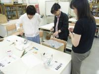 ペットボトルリサイクル実験