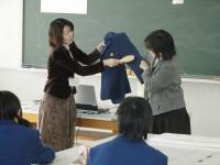 衣服から考えるもったいない/廿日市市立阿品台中学校